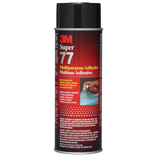 3M Super Spray Adhesive (MMM77)