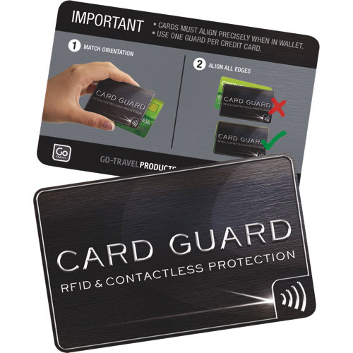 Go travel rfid blocking credit card cover 2 pack travel go travel rfid blocking credit card cover 2 pack travel wallets best buy canada reheart Choice Image