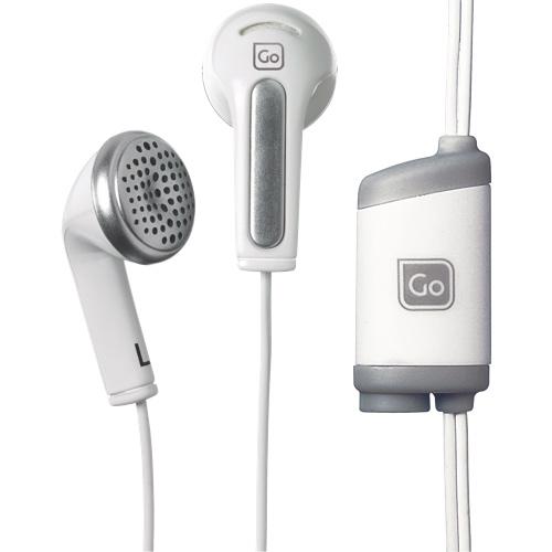 Casque d'écoute intra-auriculaire avec séparateur Share Phones de Go Travel - Blanc - Anglais