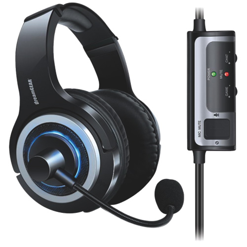dreamGEAR Prime Gaming Headset with Microphone for PS4 - Black