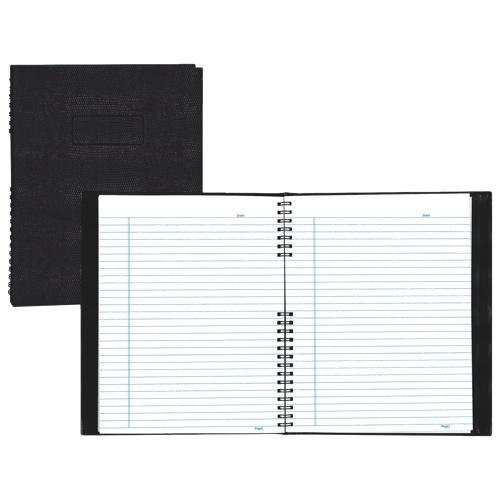 "Blueline NotePro 8.5"" x 11"" Lizard-Look Composition Book - 300 Sheets - Black"