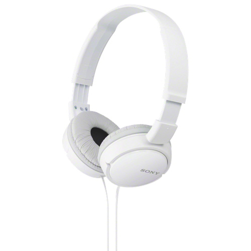 Sony Over-Ear Headphones (MDRZX110W) - White