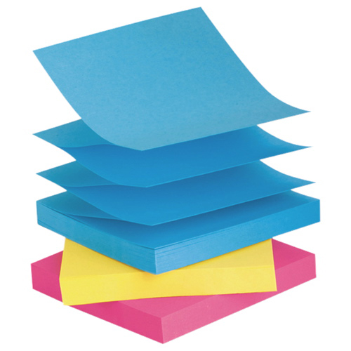 Post-It Notes Pop-Up Refill Sticky Note Pad - 6-Pack - Multi-colour