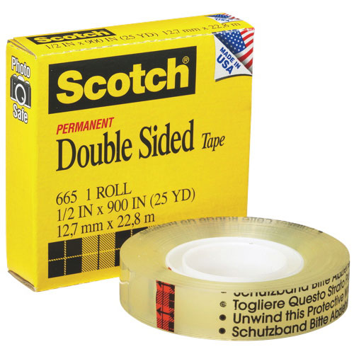 519940bf670 3M Scotch Permanent Double-Sided Tape (MMM66512X25) - 22m Length   Office  Tape - Best Buy Canada