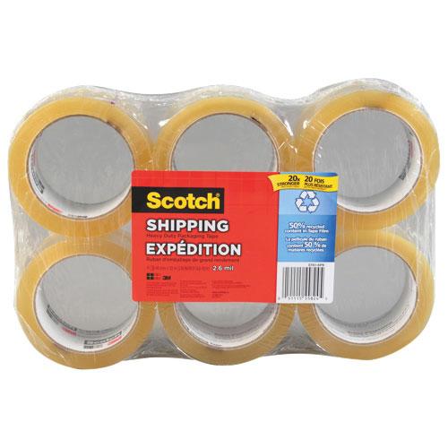 Scotch Heavy Duty Packaging Tape 6-Pack (MMM37516PK)