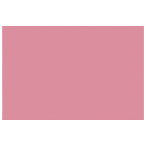 "Nature Saver 12"" x 18"" Heavyweight Construction Paper - 50 Pack - Pink"