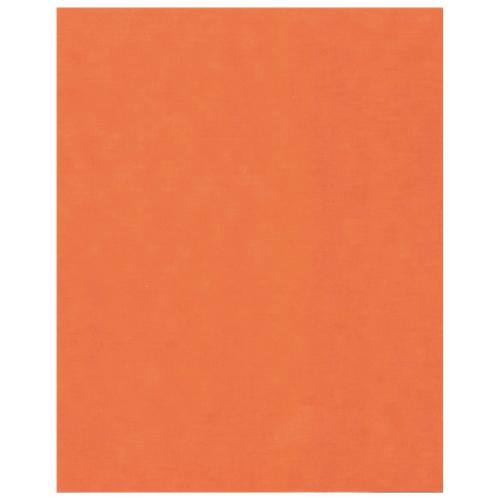 "Hilroy 22"" x 28"" Heavyweight Recycled Bristol Board - Fluorescent Orange"
