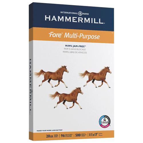 Hammermill 500-Sheet Ledger Fore Multi-Purpose Paper