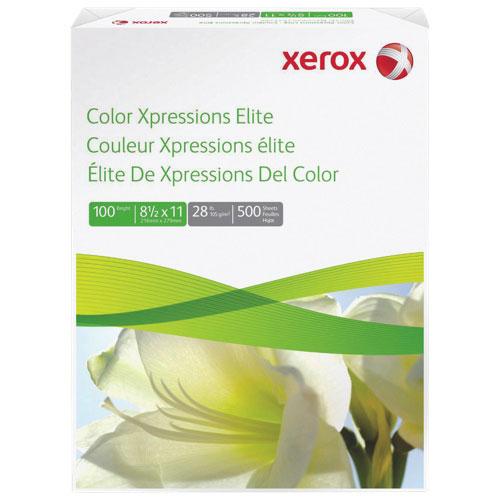 Papier multifonctionnel 8,5 x 11 po Colour Xpressions Elite de Xerox - 500 feuilles