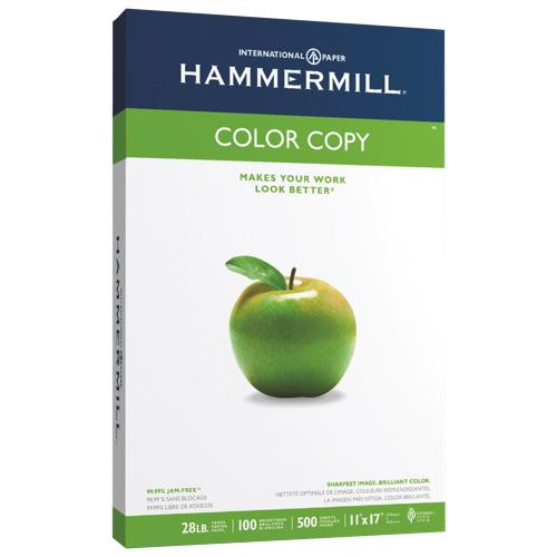 Papier pour copie couleur 11 x 17 po de Hammermill - Paquet de 500