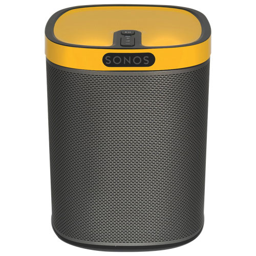 Flexson ColourPlay Skin for SONOS Play:1 Speakers (FLXP1CP1061) - Yellow