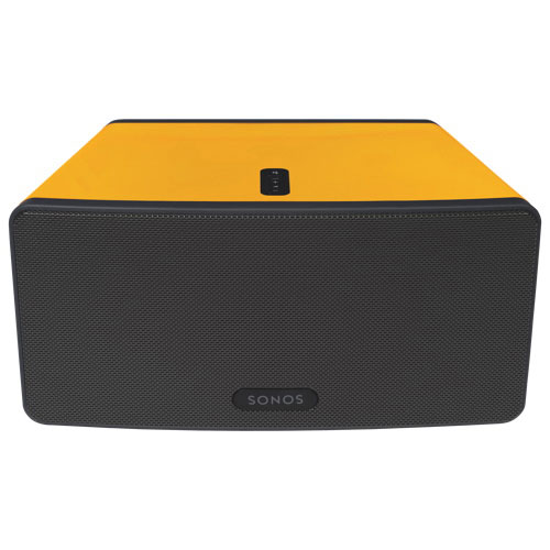 Flexson ColourPlay Skin For SONOS Play:3 (FLXP3CP1061) - Yellow