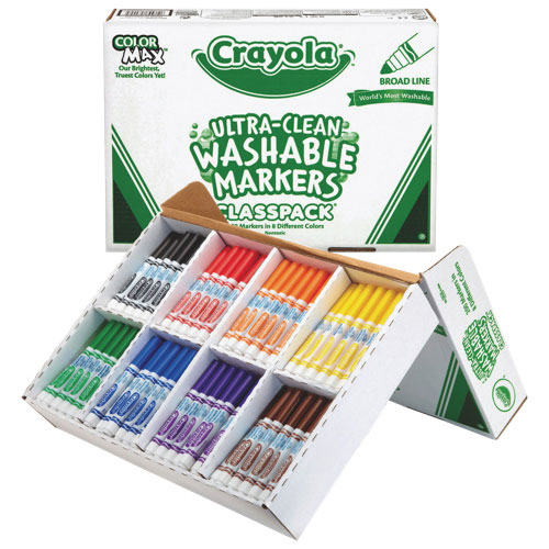 Crayola Washable Markers Classpack - 200 Pack