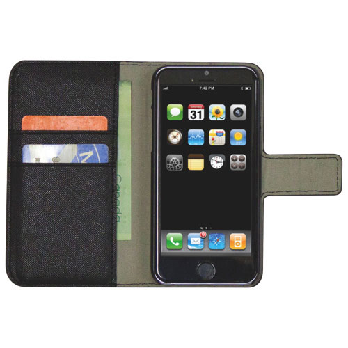 Affinity iPhone 6/6s Wallet Folio Case - Black