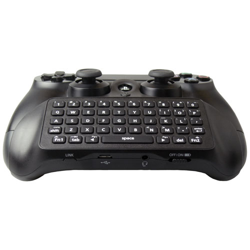 Collective Minds Chatboost Chat Pad with Battery Pack for PS4 - Black