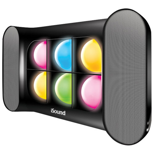 dreamGEAR iGlowSound Pro Bluetooth Wireless Speaker - Black