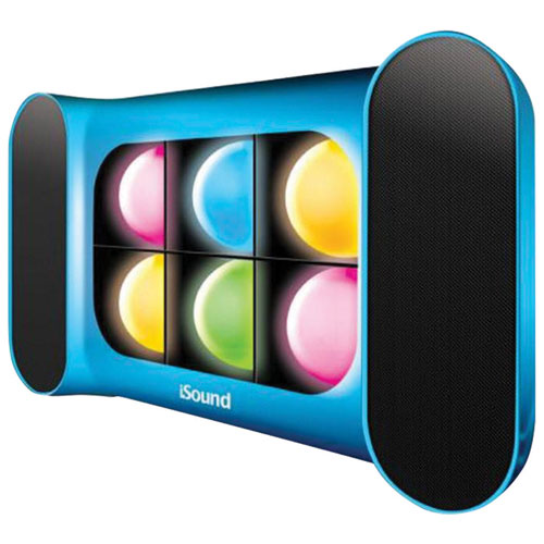 dreamGEAR iGlowSound Pro Bluetooth Wireless Speaker - Blue