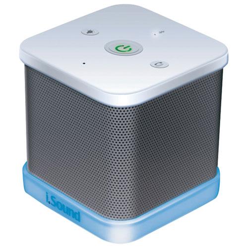 dreamGEAR iGlowSound Bluetooth Wireless Speaker - White