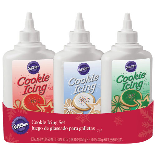 Wilton Cookie Icing Set - 3 Pack