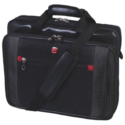 "SWISSGEAR 15.6"" Laptop Brief (SWA0586) - Black"
