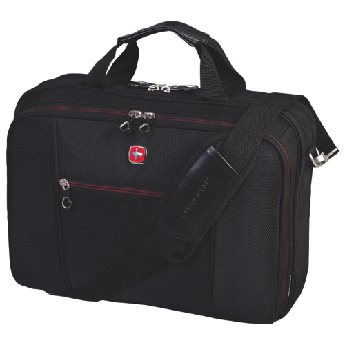 "Swiss Gear 15.6"" Top Load Laptop Case (SWA0907) - Black"