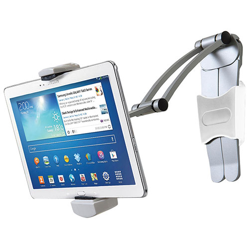 CTA Digital 2-in-1 Kitchen Mount Stand (PAD-KMS) - White