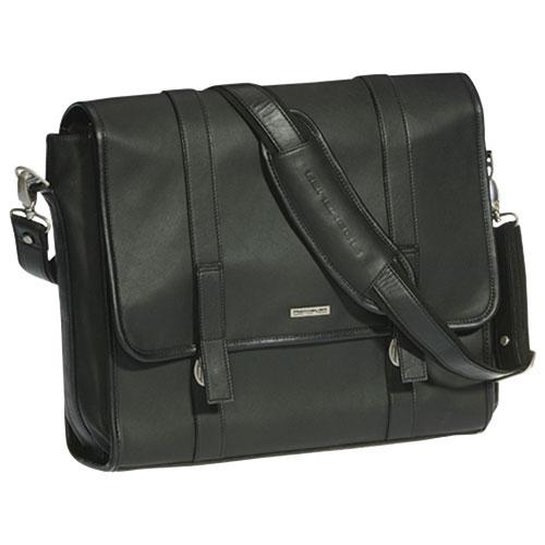 adbdafea6f7e Club Rochelier Leather Messenger Bag - Black   Messenger Bags ...