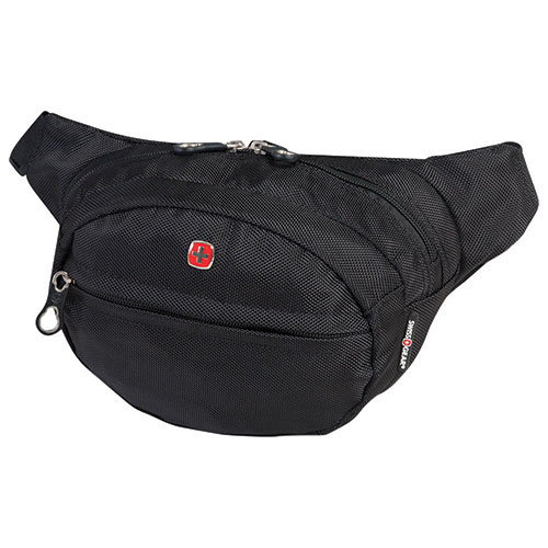 SWISSGEAR Travel Bag Waist Bag Organizer (SWT0374R) - Black   Money Belts -  Best Buy Canada 39fb8da268ad