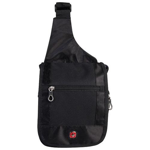 SWISSGEAR Travel Bag Boarding Sling Bag (SWT0373R) - Black ...