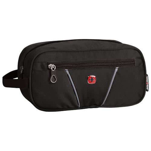 SWISSGEAR Travel Kit - Black   Cosmetic   Toiletry Bags - Best Buy ... 15706733cc60a