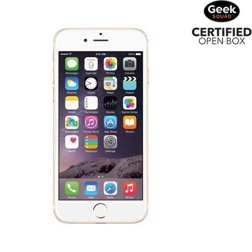 iPhone 6 de 16 Go d'Apple - Doré - Carte SIM verrouillée par fournisseur - Boîte ouverte