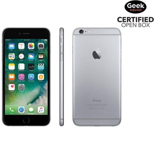 iPhone 6 Plus 16 Go d'Apple - Gris cosmique - Carte SIM verrouillée par fournisseur - Boîte ouverte