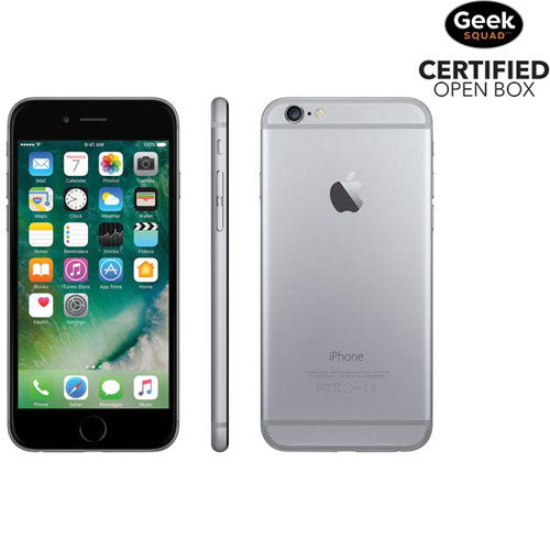 Apple iPhone 6 16GB Smartphone - Space Grey - Carrier SIM Locked - Open Box