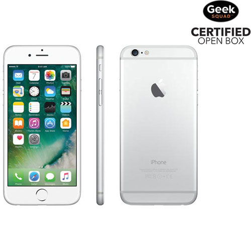 Apple iPhone 6 64GB Smartphone - Silver - Carrier SIM Locked - Open Box