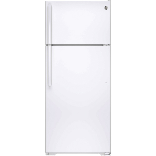 "GE 28"" 17.5 Cu. Ft. Top Mount Refrigerator (GTS18GTHWW) - White"