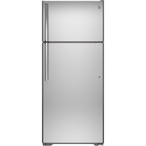 "GE 28"" 17.5 Cu. Ft. Top Mount Refrigerator (GTS18GSHSS) - Stainless"