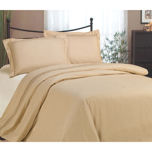 The St. Pierre Home Classic 200 Thread Count Cotton Duvet Cover Set - King - Cream
