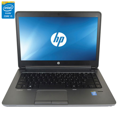 "HP ProBook 640 14"" Laptop - Black (Intel Core i5-4200M/320GB HDD/4GB RAM/Windows 8) - Eng - Refurb"