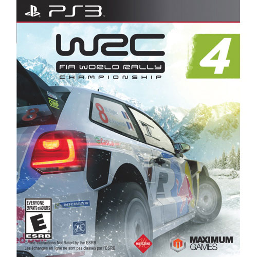 WRC4 FIA World Rally Championship (PS3)
