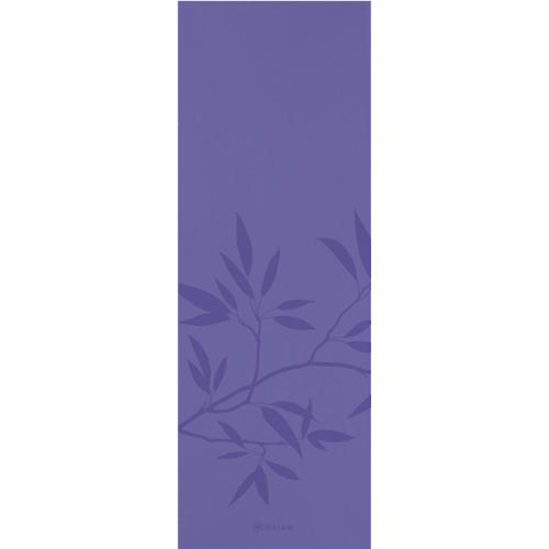 Gaiam Ash Leaves Yoga Mat (LAP-MT-61441F) - Purple