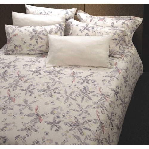 The St. Pierre Home 300 Thread Count MicroModal All Seasons Duvet - King - Ivory print