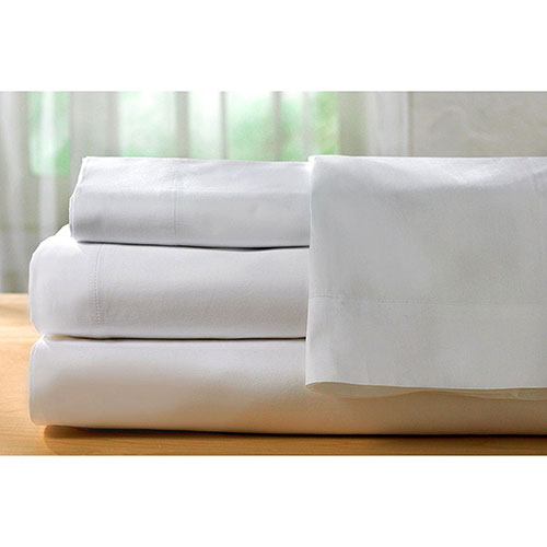 The St. Pierre Home Collection 400 Thread Count Egyptian Cotton Sheet Set - Double/Full - White