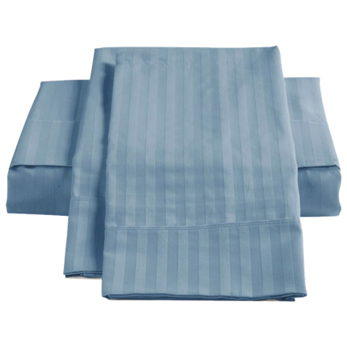 The St. Pierre Home Collection 450 Thread Count Egyptian Cotton Sheet Set - Single/Twin - Dark Blue
