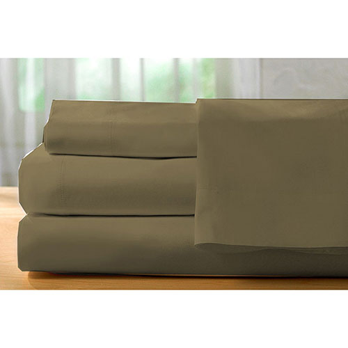 The St. Pierre Home Collection 400 Thread Count Egyptian Cotton Sheet Set - Double/Full - Avocado