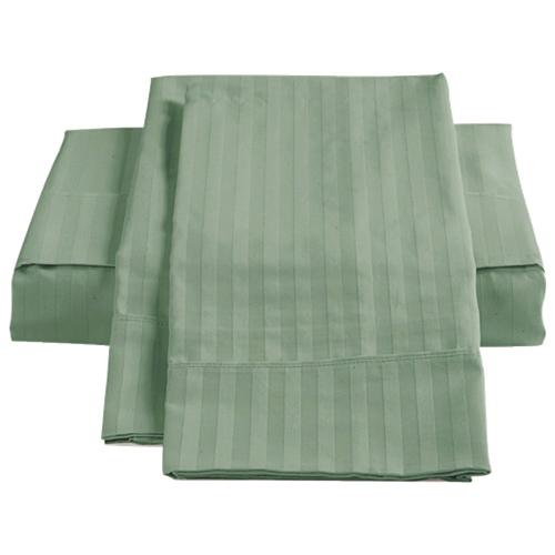 Ensemble de draps en coton égyptien de contexture 450 de St. Pierre Home - Lit double - Vert
