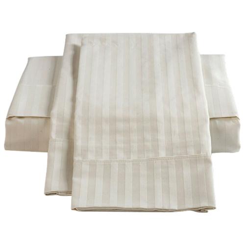 ensemble de draps en coton gyptien de contexture 450 de st pierre home tr s grand lit. Black Bedroom Furniture Sets. Home Design Ideas