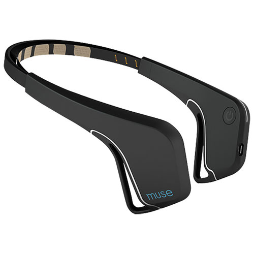 Muse Brain-Sensing Headband - Black - English