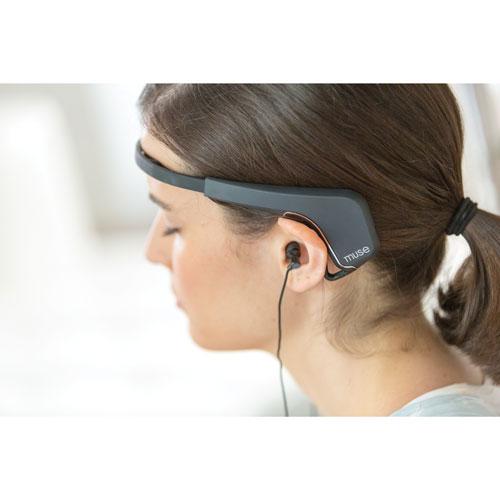 Muse Brain-Sensing Headband - Black - English   Best Buy Canada