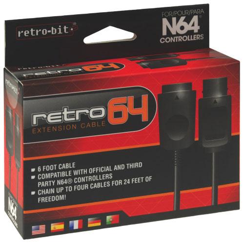 Câble de rallonge de Retro-Bit pour N64