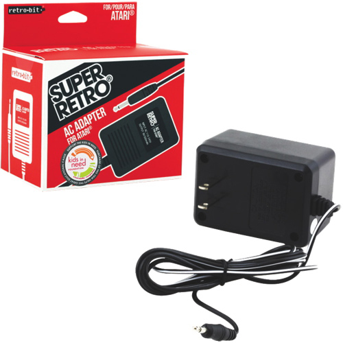 Retro-Bit Super Retro AC Adapter for Atari